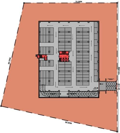 Harita it park bangalore master plan for House plan with basement parking